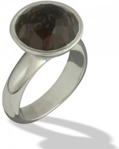 david-tishbi-beveled-smoky-quartz-ring