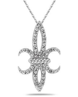 fleur-de-lis-white-gold-and-diamond-pendant-necklace1