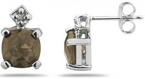 smoky-quartz-stud-earrings