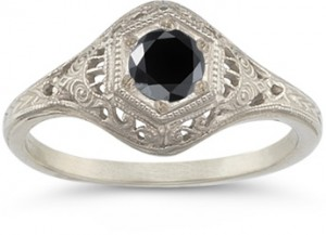 vintage-black-diamond-white-gold-ring
