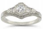 Vexing Vintage Engagement Rings