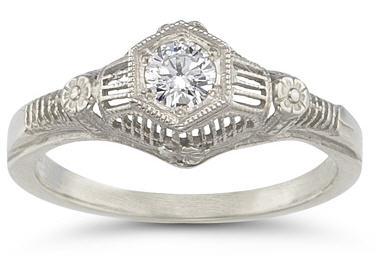 vintage-flower-diamond-ring