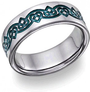 blue-titanium-wedding-band-celtic-hearts
