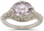 Vintage Rose Morganite Ring