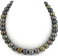 Tahitian pearl necklace AAA
