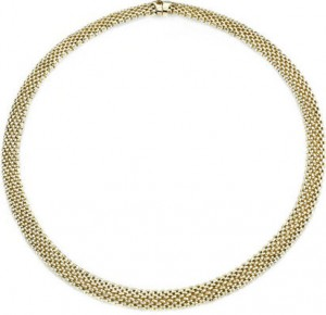 gold-mesh-necklace