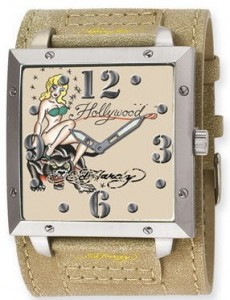 Ed Hardy watch - warrior hollywood watch