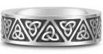 Antiqued Celtic Wedding Bands