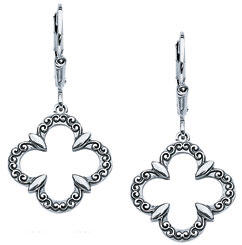 Starhaven jewelry clover earrings