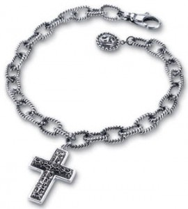 Starhaven jewelry cross charm bracelet