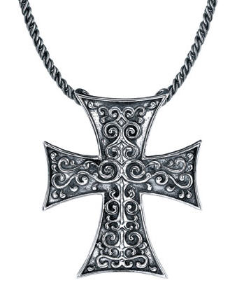 Starhaven sterling silver gothic cross