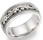 Beautiful Paisley Wedding Bands