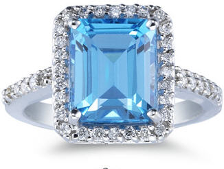 December Birthstone Blue Topaz Applesofgold Com