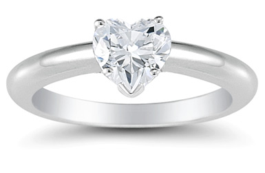 When It Comes To Matters Of The Heart, Love Knows No Boundaries. And When  It Comes To Engagement Rings, The Heart Shaped Diamond Is A Romantic  Classic To ...