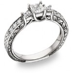 Top Diamond Engagement Rings of 2010