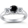 Thinking Outside The Little Cushioned Box: Choosing a Black Diamond Engagement Ring
