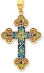 New Addition: The Stained Glass Cross