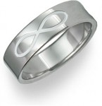 A Sign For Eternity: The Infinity Symbol Wedding Band