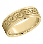 New 18K Gold Wedding Bands