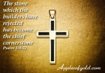 Simple, Strong Gold Crosses