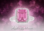 Pink Topaz Rings to Add Zing to Your Spring
