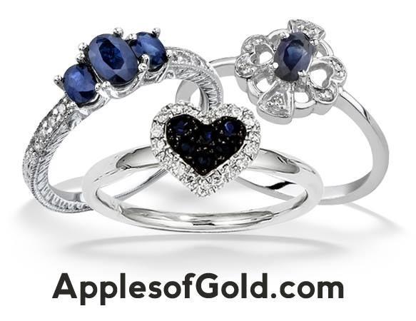 sapphire rings set