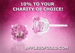 Go Pink and Give Back: 10 Percent of the Sale of Pink Jewelry to Charity of Your Choice